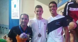 الور يظفر بالميدالية البرونزية في البطولة الآسيوية للسباحة