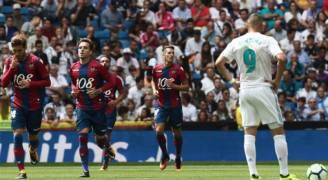 صفعة جديدة لريال مدريد بتعادله مع ليفانتي