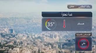 انخفاض طفيف على درجات الحرارة الأربعاء.. فيديو