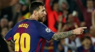 الساحر ميسي يقود برشلونة للفوز على يوفنتوس