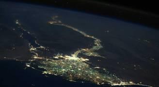 رائد فضاء روسي ينشر 'صورة مذهلة' لمصر