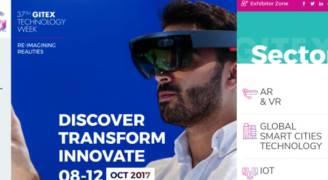 أسبوع جيتكس للتقنية يكشف عن الابتكارات التقنية الرائدة على مستوى العالم في ٢٠١٧