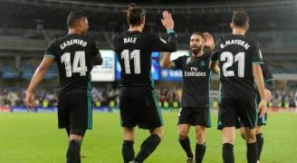ريال مدريد يعبر سوسيداد بسهولة ويتجاوز عثراته السابقة