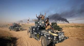 القوات العراقية تبدأ استعادة قضاء عنه في الأنبار