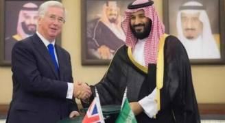 اتفاقية تعاون عسكري وأمني بين بريطانيا والسعودية
