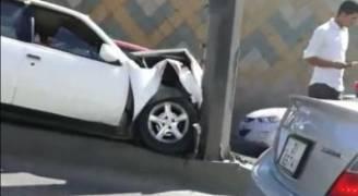 اصابة شخص في حادث تدهور بعمان