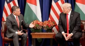 الملك يبلغ ترمب: الإرهاب شر عالمي وسوف نتغلب عليه والأردن بجانبكم