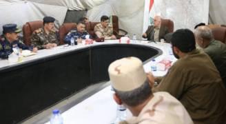 العبادي: نحن بالمراحل الأخيرة من تحرير العراق وتأمين الحدود