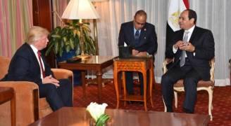 ترمب يعد السيسي بـ'النظر' في استئناف المساعدات العسكرية لمصر