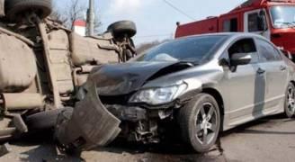إصابة شخص بحادث تصادم في الجيزة