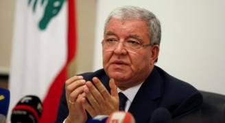 رصد سيارة تحمل متفجرات قرب موكب وزير داخلية لبنان