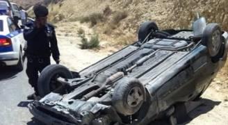 وفاتان وإصابتان بحادث سير في العقبة