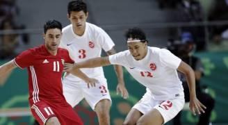'كرة الصالات' يلتقي اليابان في ربع النهائي الدورة الآسيوية