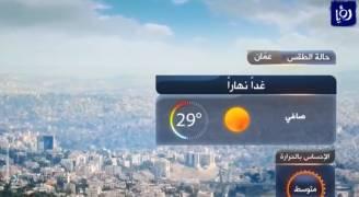ارتفاع قليل على درجات الحرارة الاثنين.. فيديو
