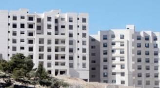 ارتفاع مساحة الأبنية المرخصة في الأردن خلال سبعة أشهر