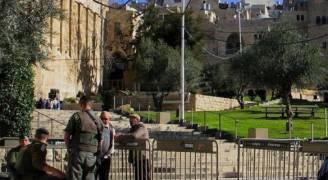 الاحتلال يغلق الحرم الإبراهيمي أمام المسلمين