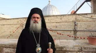 المطران عطا الله حنا: لا نعادي اليونان لكننا نرفض ان يفرّط احد بأملاك كنيستنا