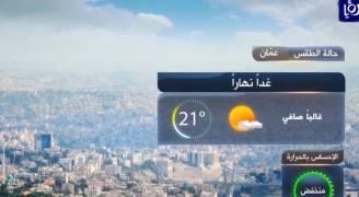 الأحد: انخفاض طفيف على درجات الحرارة ..فيديو
