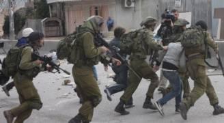 الاحتلال يعتقل ١٤ فلسطينيا