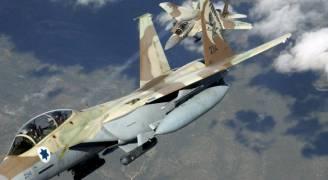 طيران الاحتلال يستهدف بطارية للدفاعات الجوية السورية