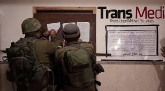 الاحتلال يغلق شركات انتاج اعلامية بالضفة الغربية ويعتقل ١٩ فلسطينيا