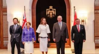 الملك عبر تويتر: نرحب بصديقنا الحاكم العام لأستراليا
