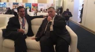 'الطراونة' يلتقي برئيس مجلس الشعب السوري