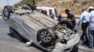 وفاة وإصابتان  بحادث محافظة الطفيلة