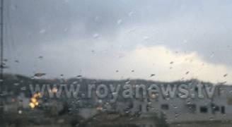 الاثنين :فرصة لزخات متفرقة من الأمطار خاصة في شمال المملكة ..فيديو