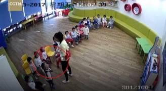 فيديو يفضح ممارسات صادمة في روضة أطفال صينية