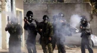 إصابات بالاختناق خلال مواجهات شرق بيت لحم