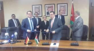 ١٠ ملايين يورو منحة إضافية للأردن من بنك الإعمار الألماني