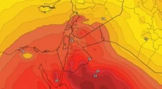 ارتفاع على درجات الحرارة حتى نهاية الأسبوع مع ظُهور للسحب العالية