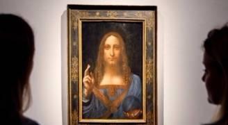 نصف مليار دولار مقابل لوحة 'منقذ العالم' لدافنشي في مزاد بنيويوك