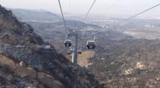 خط 'تليفريك' لربط الصين بروسيا فوق نهر حدودي