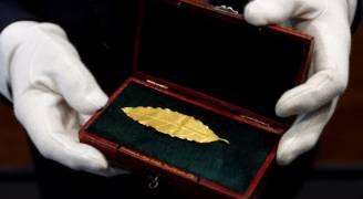 'ورقة غار' بـ٧٣٤ ألف دولار.. ما علاقة نابليون بها؟