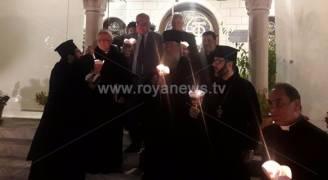 مسيرة شموع نظمتها كنائس عمان رفضاً لقرار ترمب.. صور