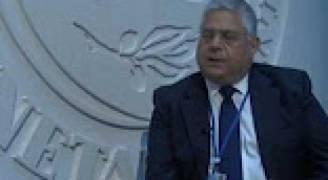 لقاء وزير المالية خلال اجتماعات الربيع 2017