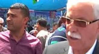 اضراب شامل يعم المدن الفلسطينية تضامنا مع الأسرى
