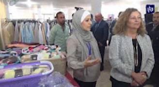 بنك الملابس الخيري يفتتح صالة لعرض الملابس للمحتاجين