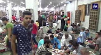 الإفطار في المساجد عادة جديدة في رمضان بالزرقاء