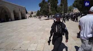 الأردن يدين اقتحامات المستوطنين وأمن الاحتلال لساحات المسجد الأقصى المبارك