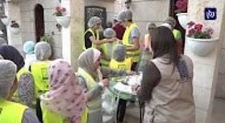 تكية أم علي تقيم إفطارات للمحتاجين خلال أيام الشهر الفضيل
