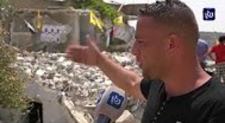 قوات الاحتلال تهدم منازل للشهداء في قرية دير أبو مشعل غرب رام الله