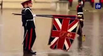 جلالةُ الملك يرعى حفلَ تخريجِ ضباط ساندهيرست البريطانيةِ الذي يضمُ وليَ العهد