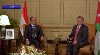 جلالةُ الملك يعزي الرئيسَ المصريَ بضحايا حادثِ تصادمِ القطارينِ في الإسكندرية