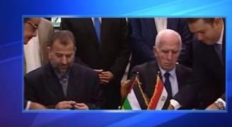 جلالة الملك يهنىء الرئيس عباس على اتفاق المصالحة الفلسطينية