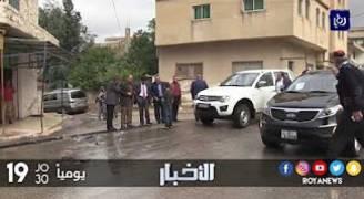 أهالي الطيبة في إربد يعانون سنويا من مداهمة مياه الامطار لمبانيهم ومحالهم