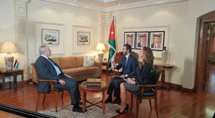 خلال اللقاء مع نائب رئيس الوزراء وشؤون المغتربين ناصر جودة