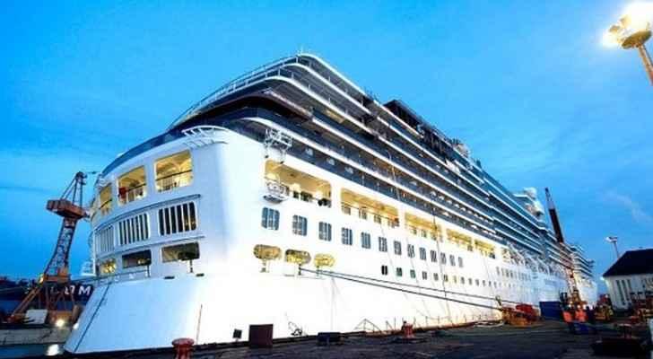 الباخرة تزور عدد من موانىء العالم من ضمنها ميناء العقبة